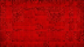 Red abstract mosaic background Royalty Free Stock Photography