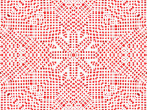 Red abstract pattern Royalty Free Stock Image