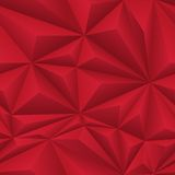 Red Abstract Polygon Background Tile Royalty Free Stock Images