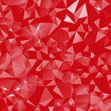 Red abstract polygon pattern Royalty Free Stock Photos