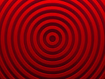 Red abstract radial background. 3D. Illustration. This image works good for text backgrounds, website backgrounds, or print Royalty Free Stock Photos