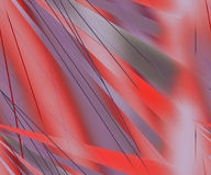 Red abstract ray  background Royalty Free Stock Image