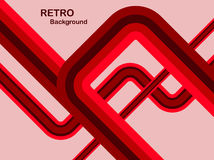 Red Abstract Retro Background Royalty Free Stock Images