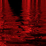 Red abstract ripples Royalty Free Stock Images