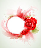 Red abstract rose Royalty Free Stock Image