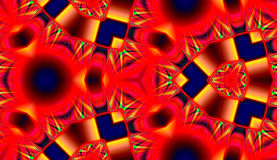Red abstract seamless pattern Royalty Free Stock Image