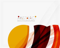 Red abstract shapes background for your message Royalty Free Stock Photos