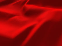 Red Abstract Silk Satin Cloth Background Royalty Free Stock Image
