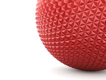 Red abstract sphere Royalty Free Stock Photo