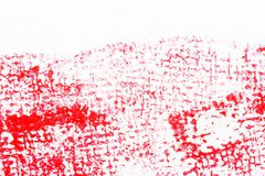 Red abstract spotted acrylic art background. Color texture. Fragment of artwork. Spots of paint.Modern art. Contemporary art royalty free illustration