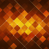 Red Abstract Square Dot Tech Background Stock Photos