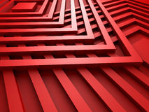 Red Abstract Squares Design Background Royalty Free Stock Photography