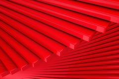 Red Abstract Squares Design Background. 3d Render Illustration royalty free illustration