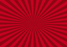 Red abstract starburst background. For design Royalty Free Stock Photo