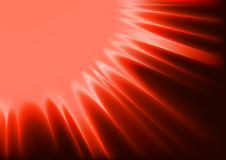 Red Abstract Sunshine Stock Photography