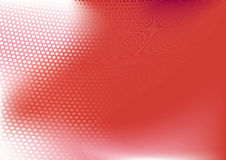 Red  abstract techno background. Composition of dots and curved lines--great for backgrounds, or layering over other images Royalty Free Stock Photos