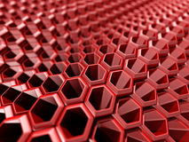 Red Abstract Technology Hi-Tech Futuristic Background Royalty Free Stock Photo