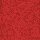 Red abstract texture Royalty Free Stock Image