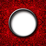 Red abstract texture with round center Royalty Free Stock Image
