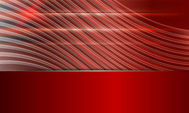 Red abstract vector background. With lines Stock Photo