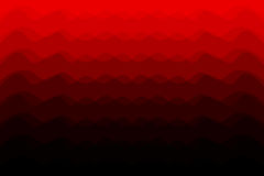 Red abstract vector background - waves. Abstract red tone background with curve lines stock illustration