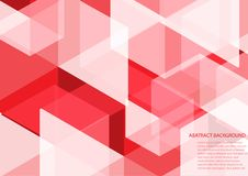 Red abstract background with eps 10. Red abstract vector eps background stock illustration