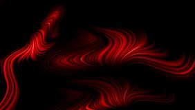 Red abstract vector shaded wavy background wallpaper. vivid color vector illustration. Stock Photos