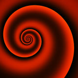 Red abstract vortex Stock Photography