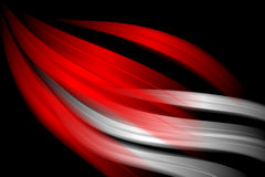 Red abstract wavy background Stock Photo