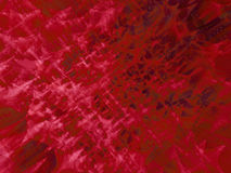 Red abyss. Deep red textured abstract rendered background Stock Photography
