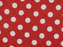 Red acetate fabric Stock Image