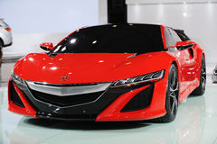 Red Acura NSX Concept Royalty Free Stock Image