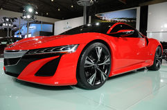 Red Acura NSX Concept Royalty Free Stock Photography