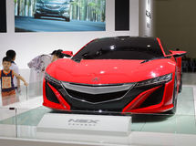 Red acura nsx concept car Royalty Free Stock Photo