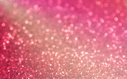 Red adn pink blur bokeh backround Royalty Free Stock Photos