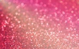 Red adn pink blur bokeh backround Royalty Free Stock Photos