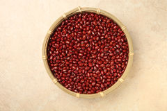 Red adzuki beans Stock Image