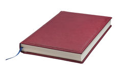 Red agenda. Stock Photo
