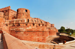 Red Agra Fort Royalty Free Stock Photography