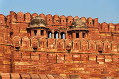 Red Agra Fort Royalty Free Stock Photos