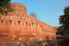 Red Agra Fort Royalty Free Stock Image