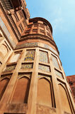 Red Agra Fort Stock Image