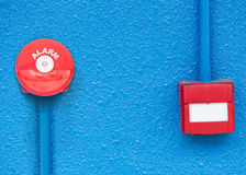 Red alarm Royalty Free Stock Photo
