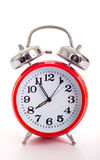 Red Alarm Clock Royalty Free Stock Photos