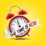 Red alarm clock stock illustration