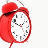 Red alarm clock Stock Image