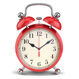 Red alarm clock Royalty Free Stock Photo