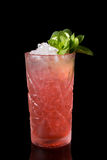 Red alcohol cocktail drink Royalty Free Stock Images