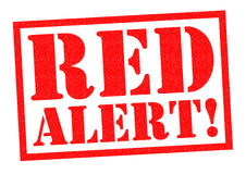 RED ALERT! Royalty Free Stock Images