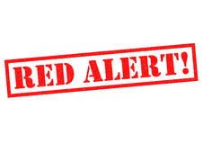 RED ALERT! Stock Images